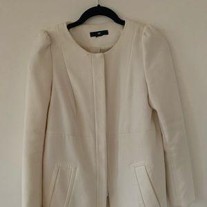 Jackets & Blazers - White classic coat